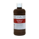 Rock Paint / Handy Art RPC101090BN Acrylic Paint 16 oz Burnt, 3 EA