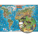 Round World Products RWPDM001 Childrens Map Of The World