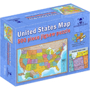 Round World Products RWPHMP02 500 Piece Usa Puzzle