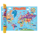 Round World Products RWPKM01 World Map For Kids