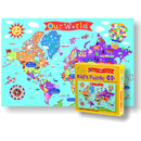 Round World Products RWPKP01 World Jigsaw  Puzzle For Kids