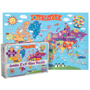 Round World Products RWPKP03 World Floor Puzzle For Kids