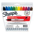 Sanford L.P. SAN30072 Sanford Sharpie Fine 12-Color Set Markers Felt Point
