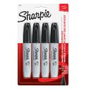 Sanford L.P. SAN38264 Marker Set Sharpie Chisel Black 4Ct Carded