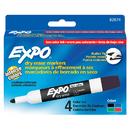 Sanford L.P. SAN82074 Marker Expo 2 Dry Erase 4 Clr Bull Black Red Blue Green