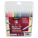 Sargent Art SAR221521 Sargent Art 12Ct Classic Brush Tip - Markers
