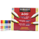 Sargent Art SAR221525 Broad Tip Washable Classpack