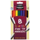 Sargent Art SAR221540 Classic Markers Fine Tip 8 Colors
