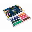 Sargent Art SAR227201 144Ct Sargent Colored Pencil Best - Buy Assortment 8 Colors 18 Of Each