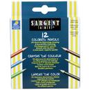 Sargent Art SAR227214 Half-Sized Colored Pencils 12 Color Set