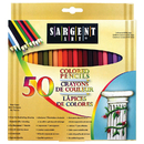 Sargent Art SAR227251 Colored Pencils 50 Color Set