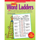 Scholastic Teaching Resources SC-0439773458 Daily Word Ladders Gr 4-6