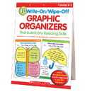 Scholastic Teaching Resources SC-0439827736 10 Write-On/Wipe-Off Graphic Organizers That Build Readng Skill