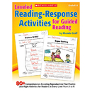 Scholastic Teaching Resources SC-544271 Leveled Reading Response Activities - For Guided Reading