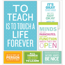 Scholastic Teaching Resources SC-810510 Inspirational Quotes Poster Bb St