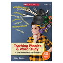 Scholastic Teaching Resources SC-811348 Teaching Phonics & Word Study In