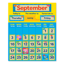Scholastic Teaching Resources SC-812778 Tape It Up Calendar Bulletin Board