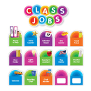 Scholastic Teaching Resources SC-812787 Color Your Classroom Class Jobs Bbs