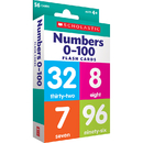 Scholastic Teaching Resources SC-823355 Flash Cards Numbers 0 To 100