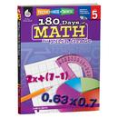 Shell Education SEP50808 180 Days Of Math Gr 5