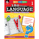 Shell Education SEP51166 180 Days Of Language Gr 1