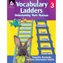 Shell Education SEP51302 Vocabulary Ladders Gr 3