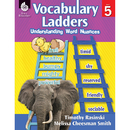 Shell Education SEP51304 Vocabulary Ladders Gr 5