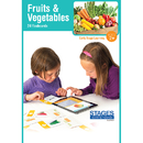 Stages Learning Materials SLM1521 Link4Fun Fruits/Veggies Cards