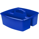Storex STX00953U06CBN Large Caddy Blue, 3 EA