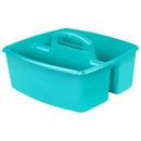 Storex STX00959U06CBN Large Caddy Teal, 6 EA