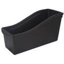 Storex STX70109E06CBN Large Book Bin Black, 6 EA