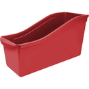 Storex STX71102U06CBN Large Book Bin Red, 6 EA