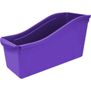 Storex STX71103U06CBN Large Book Bin Purple, 6 EA