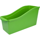 Storex STX71104U06CBN Large Book Bin Green, 6 EA