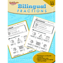 Houghton Mifflin Harcourt SV-99816 Bilingual Math Fractions