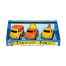 Small World Toys SWT7401804 Tailgate Trios Construction