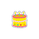 Trend Enterprises T-10505 Mini Accents Birthday Cake 36Pk 3In