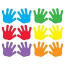 Trend Enterprises T-10831 Classic Accents Handprints Mini Variety Pks