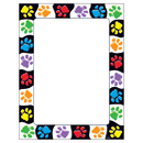 Trend Enterprises T-11419 Paw Prints Terrific Papers