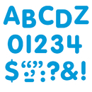 Trend Enterprises T-1781 Stick-Eze 1 Letters Numbers Blue 126 Punctuation Marks