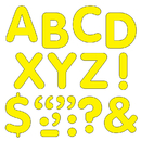 Trend Enterprises T-1788 Stick-Eze 2 In Letters & Marks Ylw