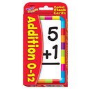 Trend Enterprises T-23004 Pocket Flash Cards Addition 56-Pk 3 X 5 Two-Sided Cards