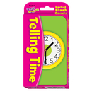 Trend Enterprises T-23015 Pocket Flash Cards Telling Time 56/Pk 3 X 5 Two-Sided Cards
