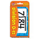 Trend Enterprises T-23018 Pocket Flash Cards Division 56-Pk 3 X 5 Two-Sided Cards