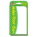 Trend Enterprises T-23019 Pocket Flash Cards Make 56-Pk Your Own 3 X 5 Two-Sided Cards