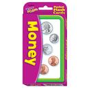 Trend Enterprises T-23020 Pocket Flash Cards Money 56-Pk 3 X 5 Two-Sided Cards