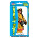 Trend Enterprises T-23022 Pocket Flash Cards Community 56-Pk Helper 3 X 5 Two-Sided Cards