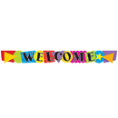 Trend Enterprises T-25021 Banner Welcome Shapes 10 Horizontal