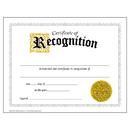 Trend Enterprises T-2564 Certificate Of Recognition 30/Pk Classic 8-1/2 X 11