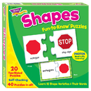 Trend Enterprises T-36008 Fun-To-Know Puzzlesshapes
